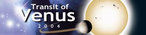 Transit of Venus banner