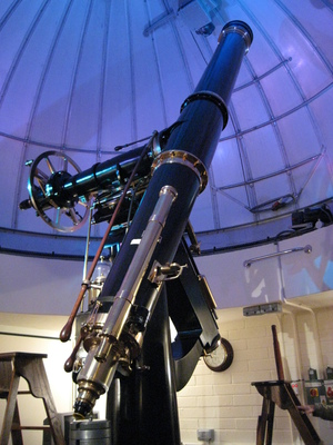 The Fry 8-inch Cooke refractor