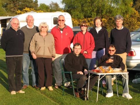 The OAS party gathered at Kelling