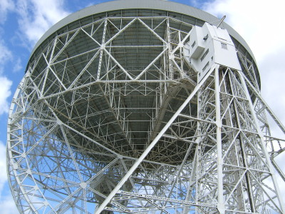 The Lovell Radio Telescope at Jodrell Bank